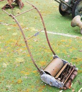 Lawn Mower Before